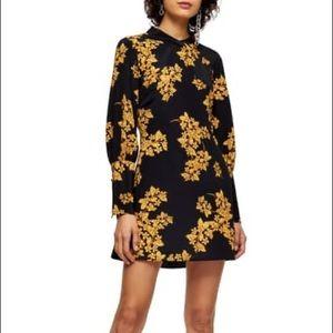 Topshop Floral Print long sleeve
